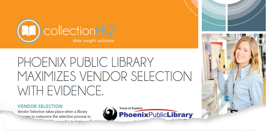 Vendor Selection at Phoenix Public Library, AZ